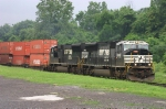 Pair of SD70M Locomotives On 24Z @ 1112 hrs.